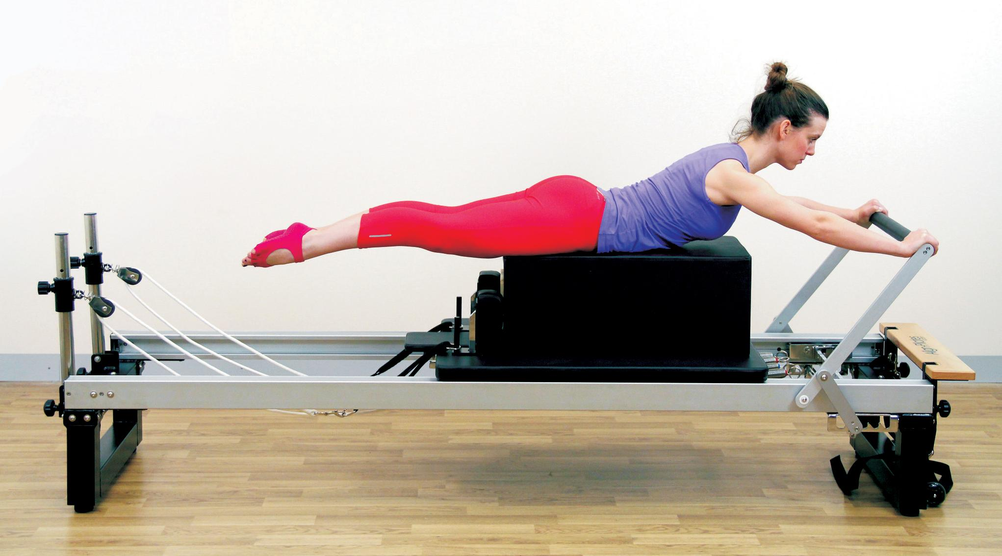 Semprose Pilates and Fitness - pilates equipment being used by the lady